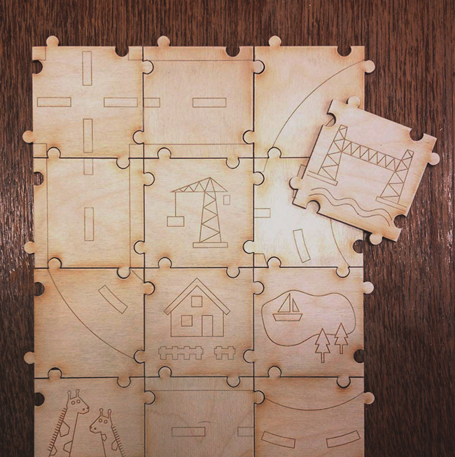 Rotterdam city puzzle